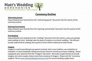 Nonreligious wedding ceremony vs nondenominational for Non religious wedding ceremony outline