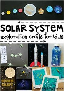 Solar System Crafts for Kids - Domestic Mommyhood