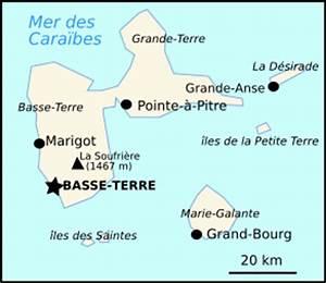 Petite-ILE, carte plan hotel ville de Petite