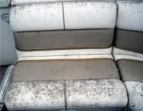 clean mildew   boat seats fibrenew