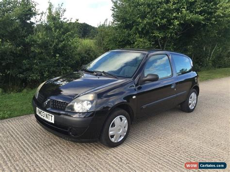 2003 Renault Clio Expression 16v For Sale In United Kingdom