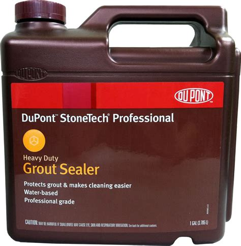 dupont stonetech grout sealer dupont stonetech professional heavy duty grout sealer 1 gallon ebay