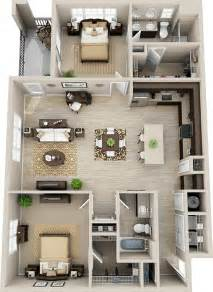 2 story open floor plans the 25 best 2 bedroom house plans ideas on