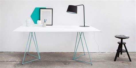bureau mike ikea 39 idées déco de tréteaux pour créer une table ou un bureau