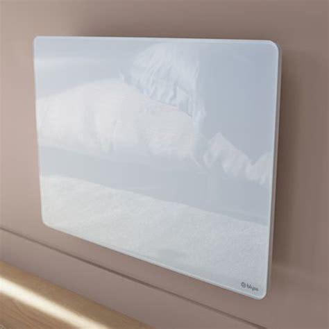 photo convecteur rayonnant facade verre