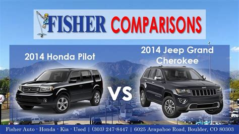 honda jeep 2014 2014 honda pilot vs 2014 jeep grand cherokee vehicle