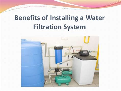 Benefits Of Installing A Water Filtration System