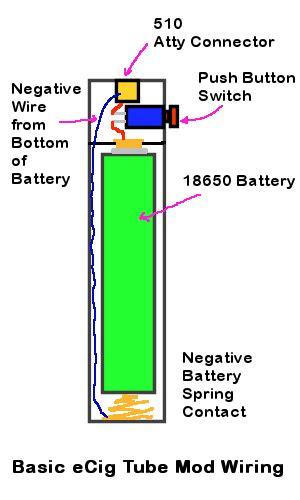 Li Led Flashlight Diagram by Basic Ecig Mod Flashlight Mod Wiring Diagram