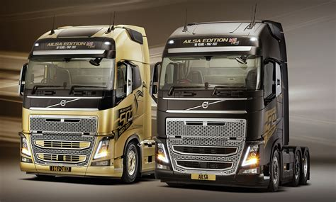 volvo trucks announce  ailsa limited edition