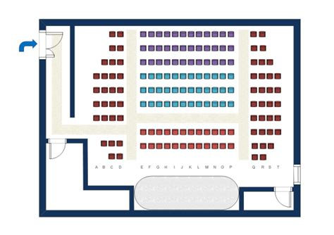 theatre style seating plan template seating plan exles and templates