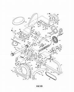Weslo Model 831218111 Cycle Genuine Parts