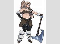 [OC] [Art] My Berserker Barbarian, Astrid DnD