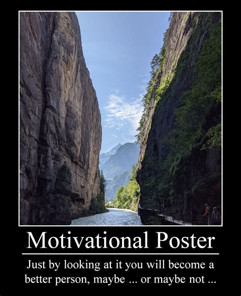 Fake Motivational Poster | AllAboutLean.com