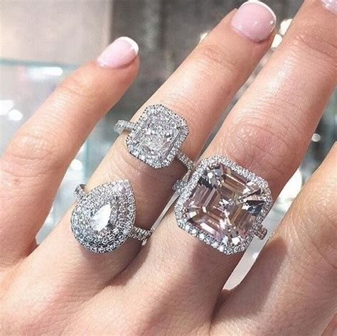 Five Engagement Ring Trends For 2017  Vogue Australia. Suspended Engagement Rings. Interlocked Wedding Rings. Pink Pearl Wedding Rings. Symbol Wedding Rings. 12 Carat Rings. Artificial Rings. Miabella Engagement Rings. Delicate Flower Engagement Rings