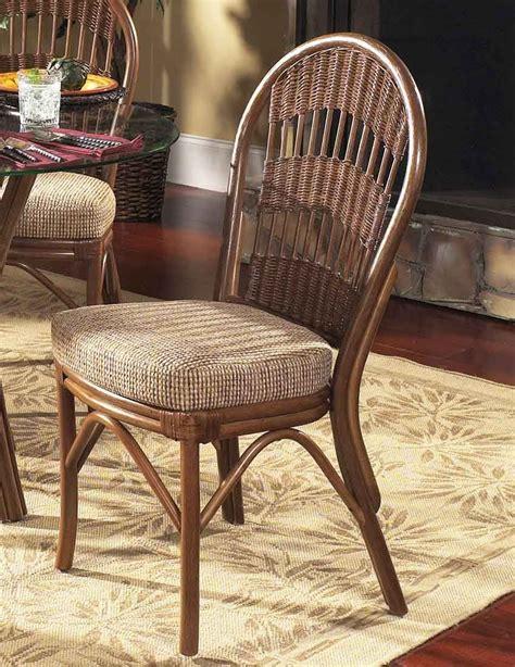 rattan dining side chair 19 wicker dining set wicker