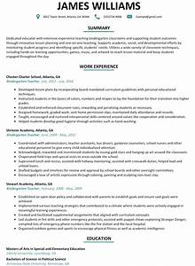 Kindergarten teacher resume amplifiermountainorg for Kindergarten teacher resume