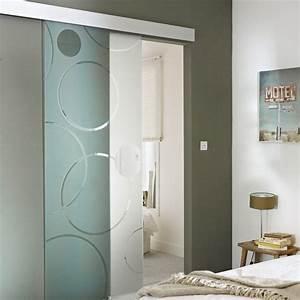 separation porte placard coulissante castorama porte With porte de douche coulissante avec fenetre opaque salle de bain