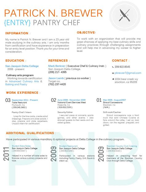 Chef Resume Sles by Culinary Resume By Breanna Dolly Deviantart On