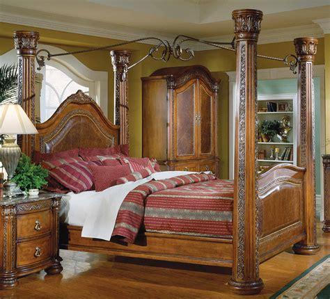 mesure canap rustic wood canopy beds pixshark com images