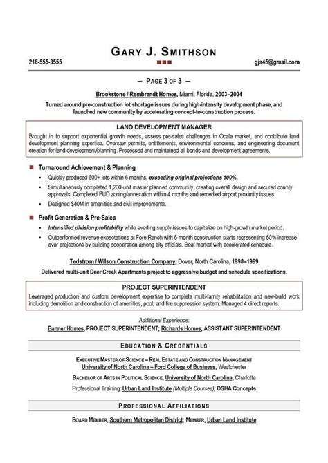 executive resume writing resume cv template exles