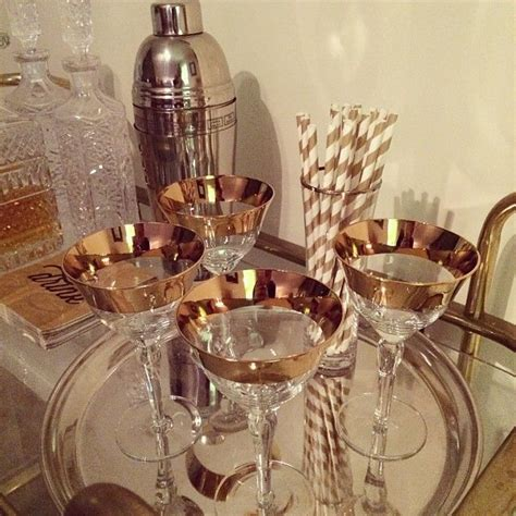 Gold Bar Accessories by 17 Best Ideas About Vintage Bar Carts On Bar