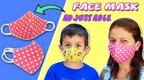 diy face mask  filter pocket  adjustable wire