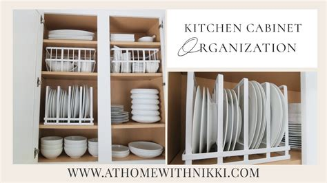 Kitchen Cabinet Organization  Organize With Me  Youtube