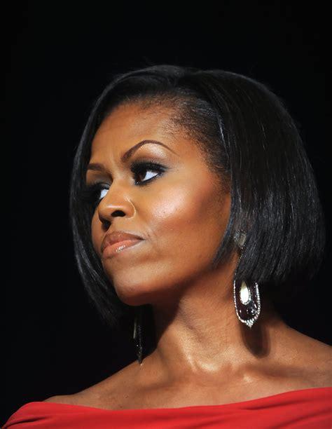 Michelle Obama Bob - Michelle Obama Looks - StyleBistro