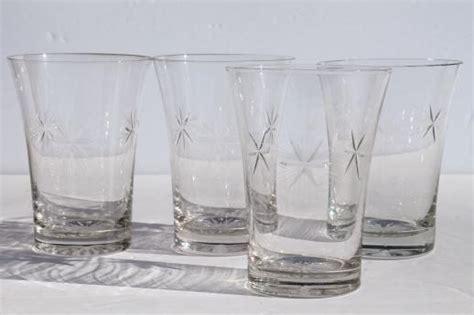 bethlehem star  point stars vintage etched glass