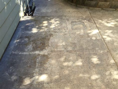 concrete stain and sealer patio makeover cheng concrete