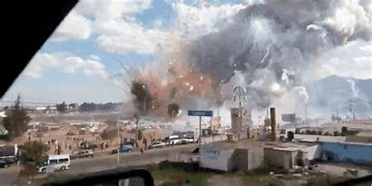 Explosion Factory Fireworks Mexico Massive Tultepec Shows