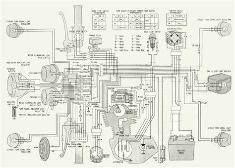 Honda Xl 350 Wiring Diagram by Honda Xl 250 Resource Site
