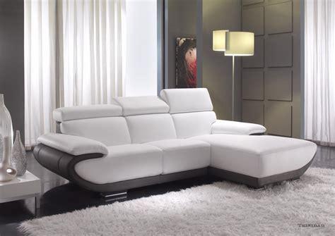 canapé contemporain cuir acheter votre canapé contemporain fixe ou relax cuir ou
