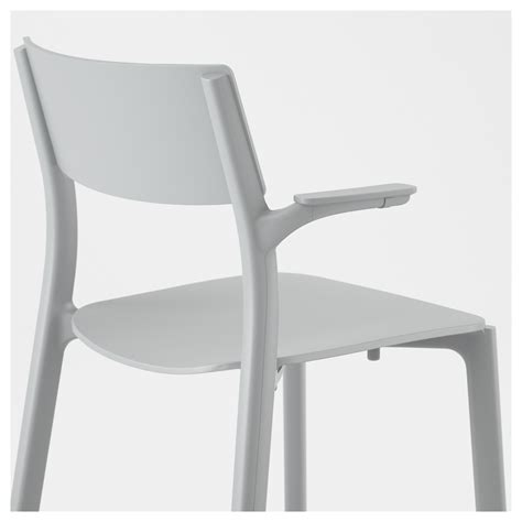 chaise plastique ikea janinge chair with armrests grey ikea
