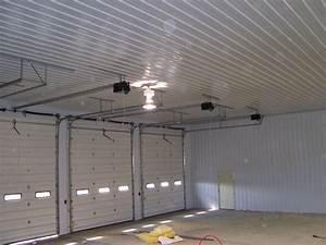 Pole barn homes interior pole barn interior finishing for Pole barn garage interior ideas