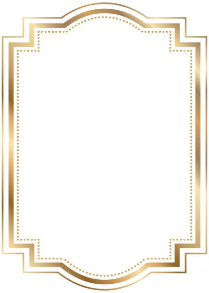 border frame gold transparent clip art gallery yopriceville high