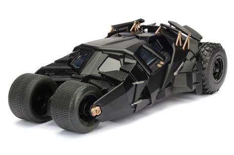 tumbler batmobile  batman figure  dark knight