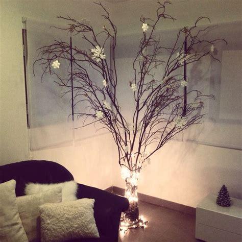 193 rbol de navidad con ramas secas decoraci 243 n pinterest