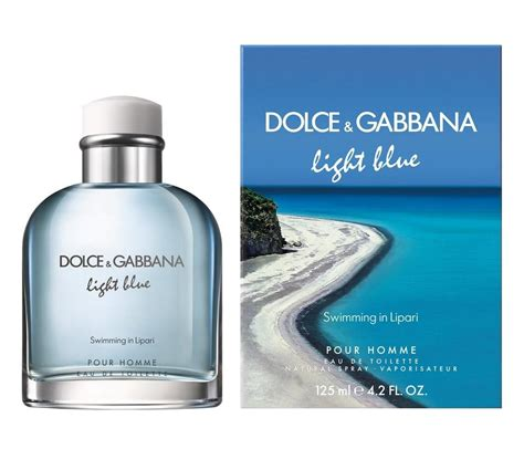 light blue dolce and gabbana d g light blue pour homme swimming in lipari by dolce