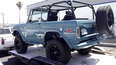 classic ford bronco rocky roads legend  part  youtube