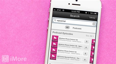 podcasts on iphone how to individual podcast episodes with the