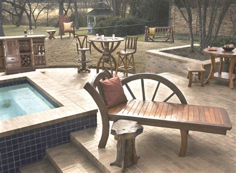 country western outdoor furniture country western patio