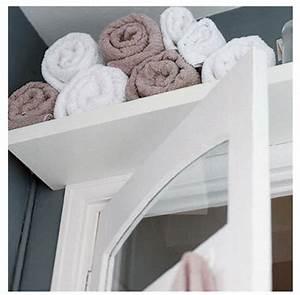 rangement salle de bain en 26 idees anti casse tete With porte d entrée alu avec etagere au dessus lavabo salle de bain