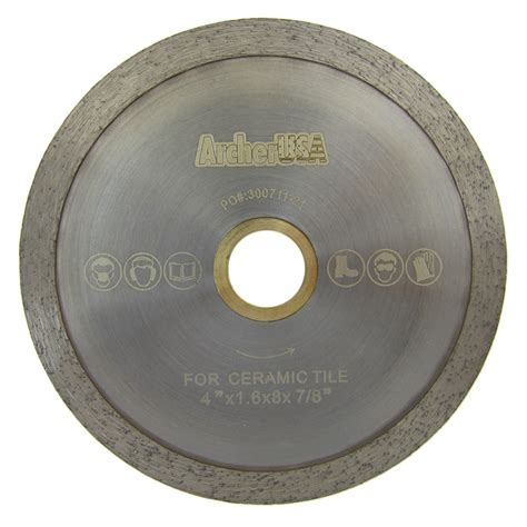 4 quot saw blade for porcelain tile cutting and glass cutting