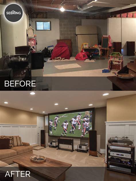naperville basement   pictures home