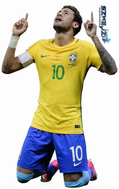 Neymar Brazil Transparent Pluspng Gambar
