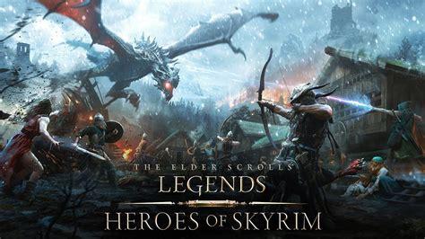 The Elder Scrolls Legends Heroes Of Skyrim Trailer