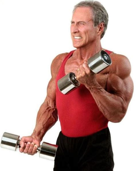 aging bodybuilder   strong   years