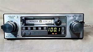 Vintage Pioneer Ke 3000 Am  Fm Cassette Car Stereo  2