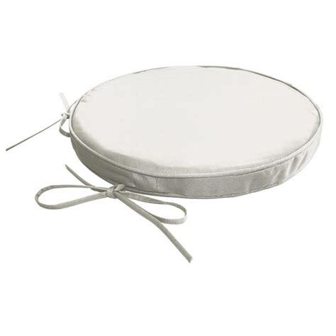 galette de chaise ronde galette de chaise ronde impermeable dehoussable achat